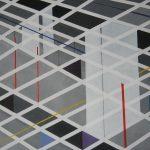 Compositie 026 Acrylverf op doek 80 x 100 cm