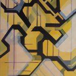 Zonder titel - 2009 Acrylverf op doek 50 x 70 cm