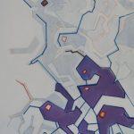 Compositie 168 Gemengde techniek 70 x 50 cm
